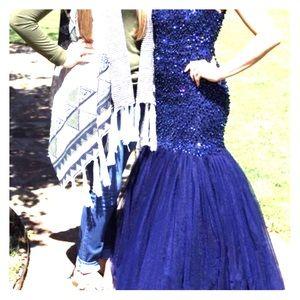 Angela and Allison formal dress